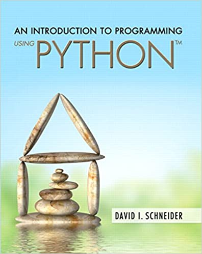 An introduction to programming using python plus mylab programming an introduction to programming using python plus mylab programming with pearson etext access card package david i schneider 9780134089454 amazon fandeluxe Images