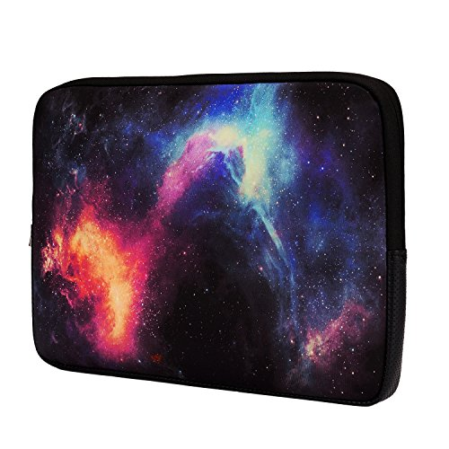 KEC Laptop 13 Inch Sleeve Case Pouch for MacBook Air 13 | MacBook Pro Retina 13 | Notebook | Chromebook | UltraBook (MacBook 13 / NoteBook 13, Galaxy)