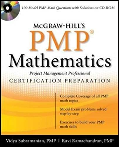 McGraw-Hill\'s PMP Certification Mathematics with CD-ROM: Vidya ...