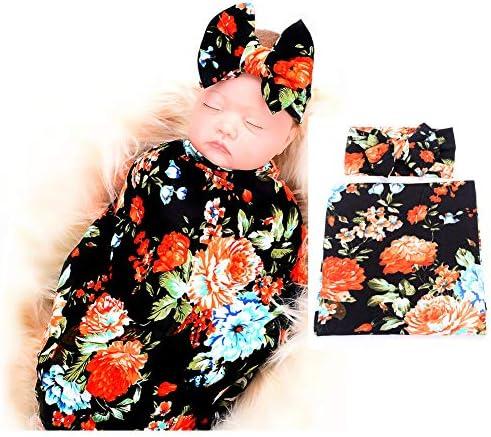 Galabloomer Newborn Receiving Headband Blankets product image