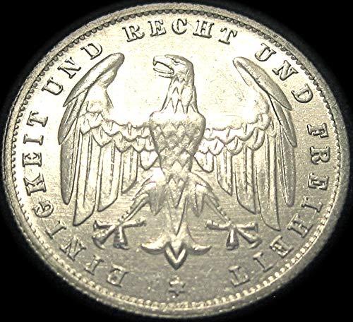 waterwrestler German 500 Mark Coin - 1923A - Extra Fine Condition!
