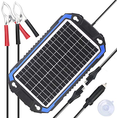 portable solar battery charger rv - 7