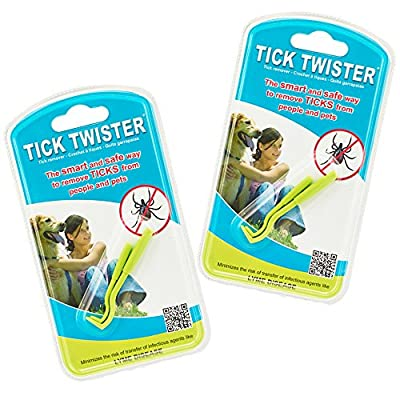Tick Twister Tick Remover Set with Small and Large Tick Twister from Q K Design