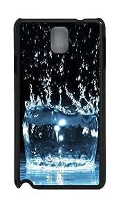 Liquid crystal Custom Samsung Galaxy Note 3 N9000 Case Cover ¨C Polycarbonate ¨CBlack