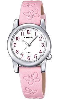 Calypso Reloj Análogo clásico para niñas de Cuarzo con Correa en Cuero K5711/2