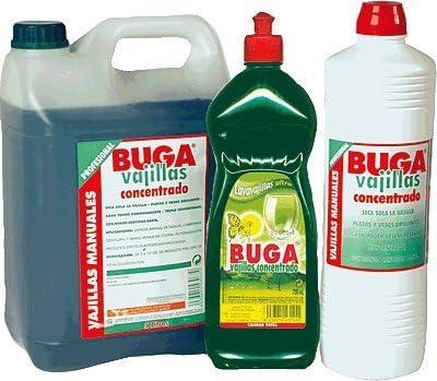 Bunzl Buga Lavavajillas Líquido - 750 gr: Amazon.es: Alimentación ...