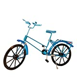 JUZIPI Handmade Wire Bicycle Cycling Bike Model Craft Micro Landscape DIY Home Decoration Ornament