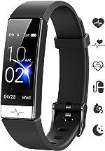 GOGUM Fitness Tracker, Heart Rate Monitor IP68 Waterproof Activity Tracker HRV