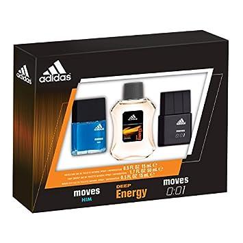 94522b59073d Adidas Moves for Him Male Personal Care Men's Omni Eau de Toilette Spray  Set, 3 Pc