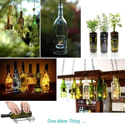 Bouteilles de Champagne et Bocaux Trousse /à Outils de Coupe Accueil Chambre Bar D/écoration Faire de lartisanat Bi/ère RAINBEAN Coupe Bouteille de Verre Vin