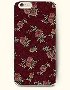 OOFIT Apple iPhone 6 Case 4.7 Inches - Retro Flowers