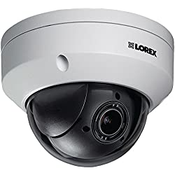 LOREX LZV2622B 1080p HD MPX PTZ Micro Dome Camera, White