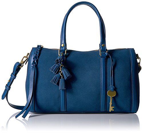 Fossil Kendall Satchel, Marine by Fossil