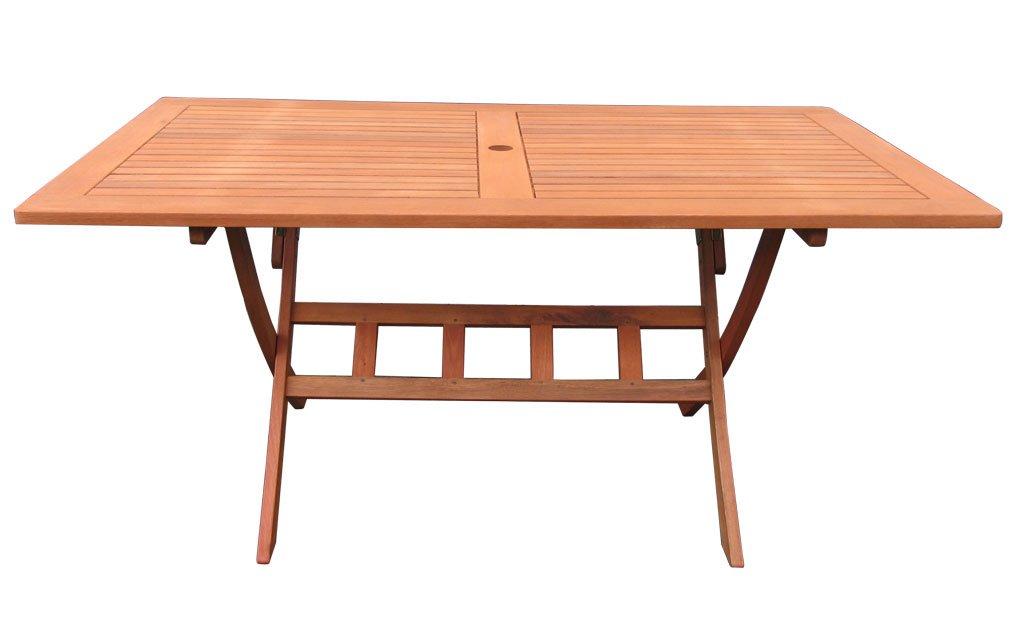 Gartentisch 160x90cm Klapptisch Balkontisch Tisch Santos