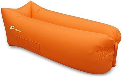 Amazon.com: Vansky tumbona hinchable para exteriores ...