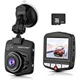 Dash Cam,Ssontong Mini Car Dashboard Camera, Full HD 1080P 2.31Screen 140 Degree Wide Angle Lens Vehicle On-dash Video Recorder with G-Sensor,Parking Monitoring,Recording and 16GB SD Card included