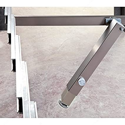 Incroyable SURPRISE   Table Extension Mechanism With Central Telescopic Leg, Transform  A Console To A Dining