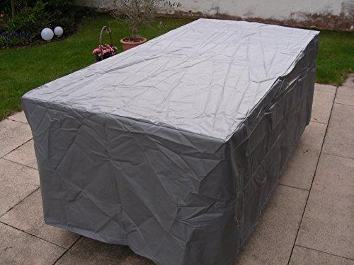 Amazon De Gartentisch Tisch Abdeckung Wasserdicht Grau Rechteckig