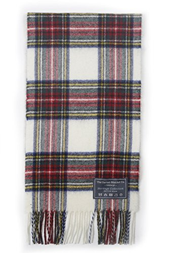 The Tartan Blanket Co. Scottish Lambswool Scarf Stewart Dress - Tartan Stewart Dress