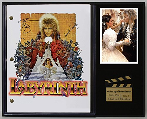 "LABYRINTH LTD EDITION REPRODUCTION MOVIE SCRIPT CINEMA DISPLAY ""C3"""
