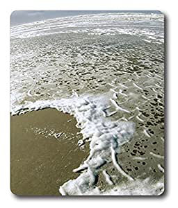 gel mouse pads Beach In Fish Eye Lens PC Custom Mouse Pads / Mouse Mats Case Cover