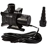 MaxFlo 1200 GPH Pond and Waterfall Pump for Water Gardening