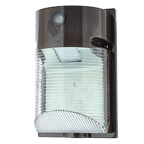 Amazon ledwholesalers 12 watt led wall mount outdoor light ledwholesalers 12 watt led wall mount outdoor light fixture with photo sensor daylight aloadofball Image collections