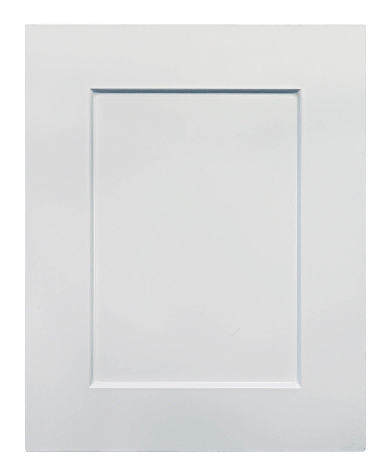 Cabinet Doors 'N' More 16'' X 22'' White RTF Shaker Recess Panel Kitchen Cabinet Door