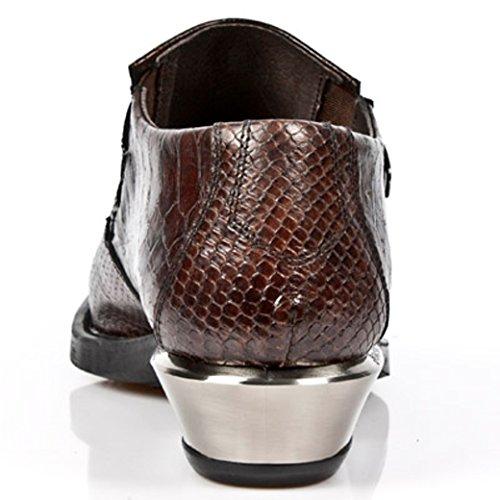 Boots Mens NEWROCK Rock 7934 Nr S4 Brown M New 07qa8wq