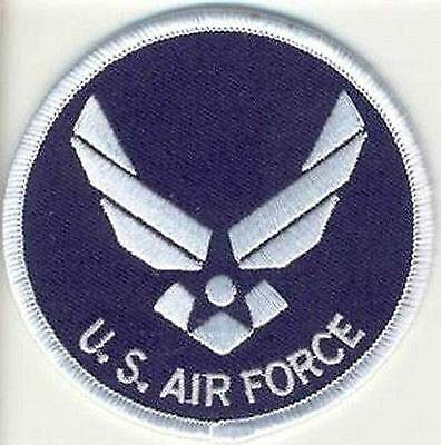 USAF AIR FORCE Wings POW Vet Military Motorcycle MC Club NEW Vest Patch PAT-2788