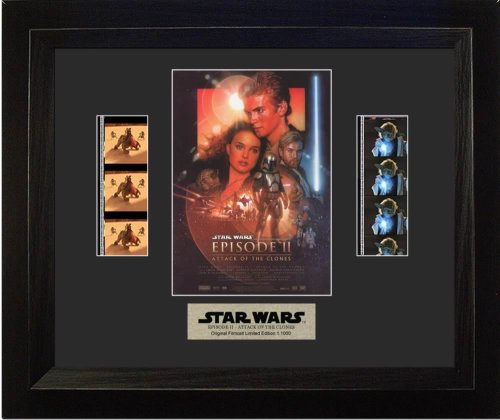 Filmcells Star Wars Attack of Clones Double Framed Art
