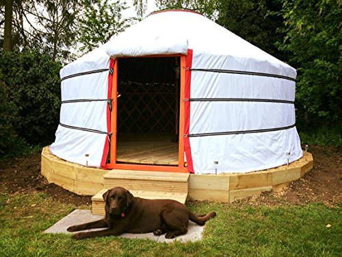 Mongulai Portable Yurt 14ft for Camping, Glamping, Fits in Car