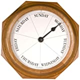 DayClocks Classic Oak Day Clock