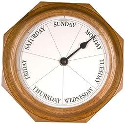 DayClocks Classic Oak Day Clock