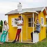 Casetta in legno per bambini KINDER 220 x 160 cm