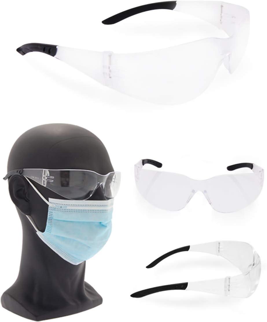 Gafas de protección DPI 533B conforme a la norma EN166:2001 con certificación INAIL