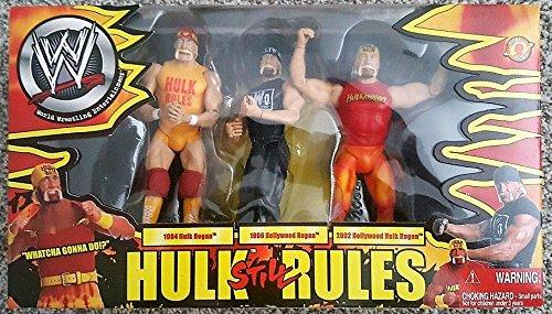 WWE Hulk Hogan Three Pack Hulk Still Rules Exclusive