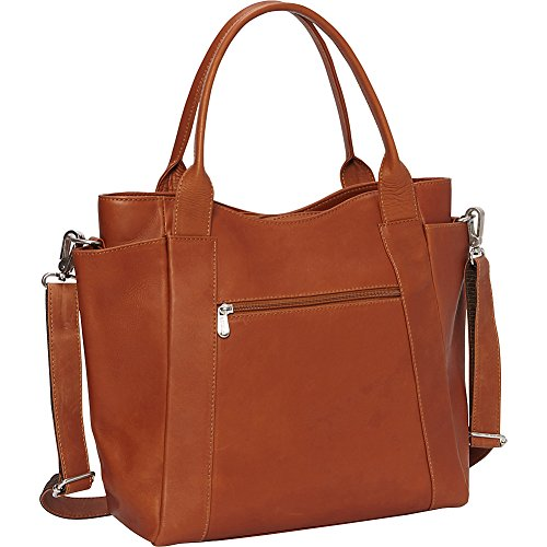 Piel Street Tote (Saddle) by Piel Leather