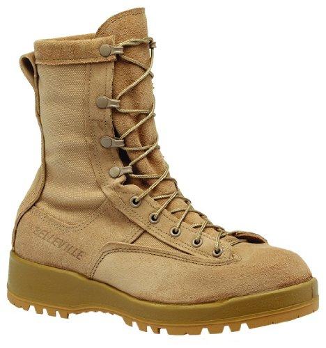 Belleville Mens Waterproof 200g Insulated Combat Work/Duty Boots Tan