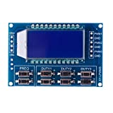 Eachbid 1Hz-150Khz PWM Board Module Pulse Frequency Duty Cycle Adjustable Module LCD Display Signal Generator Module XY-LPWM3