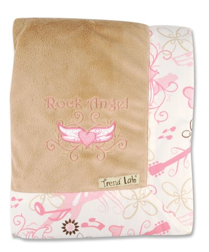 Trend Lab Framed Receiving Blanket, Rock Angel
