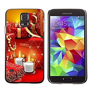 YOYO Slim PC / Aluminium Case Cover Armor Shell Portection //Christmas Holiday Gifts & Candles 1209 //Samsung Galaxy S5