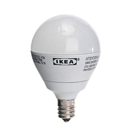 official photos 01725 3c3a5 IKEA H&PC-58349 Ikea Ledare E12 200 Lumen, 3.0 Watts, Small ...