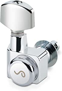 Schaller Machine Heads - Original F Series Locking Tuner Chrome