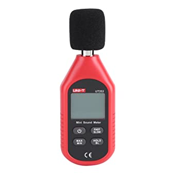 Size : 170 58 35mm Decibel Meter LONGJUAN-C Digital HD Digital Noise Tester Small Precision Noise Meter