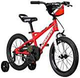Schwinn Koen Boy's Bike, Featuring SmartStart Frame to Fit Your Child's Proportions, 16inches Wheels, Red