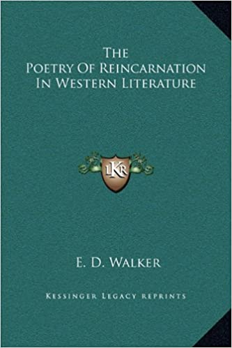 Book The Poetry of Reincarnation in Western Literature