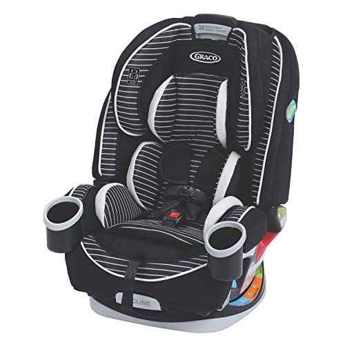 Graco 4Ever 4 in 1 Convertible Car Seat | Infant to Toddler Car Seat, with 10 Years of Use, Studio