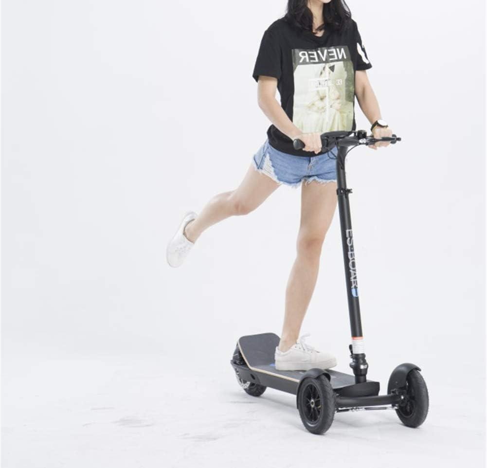Amazon.com: OTO Patinete eléctrico con tres ruedas, batería ...