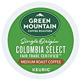 Green Mountain Colombian Fair Trade Select K-Cups 80 Count - Packaging May Vary